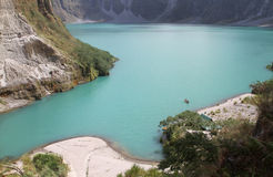 Mount Pinatubo Crater Stock Image