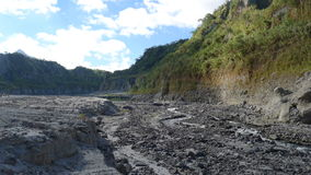 Mount Pinatubo. In the Philippines stock image