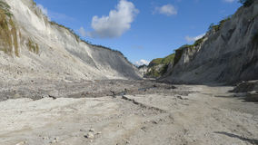 Mount Pinatubo. In the Philippines royalty free stock photography