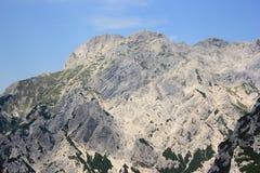Mount Planjava, Kamnik-Savinja Alps, Slovenia. Mount Konj, Kamnik-Savinja Alps landscape, Slovenia Royalty Free Stock Image