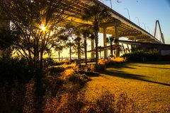 Mount Pleasant Waterfront Park royalty free stock photo