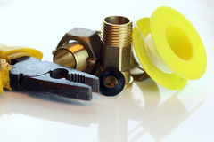 Mount for plumbers Royalty Free Stock Photo