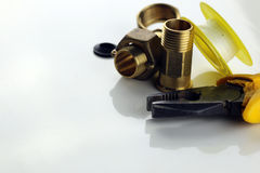 Mount for plumbers Stock Images