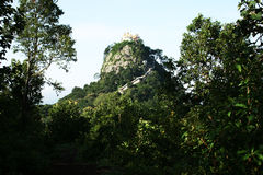 Mount popa Royalty Free Stock Photos