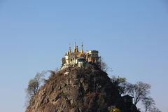 Mount Popa Royalty Free Stock Photo