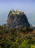 Mount Popa , Myanmar. Mount Popa in Bagan , Myanmar Royalty Free Stock Photography