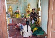 Mount Popa, Myanmar Royalty Free Stock Photo