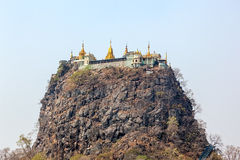 Mount Popa Royalty Free Stock Image