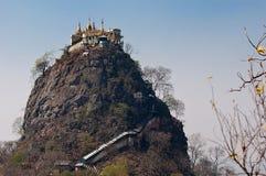 Mount Popa Royalty Free Stock Photo