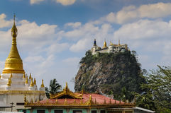 Mount Popa Stock Images