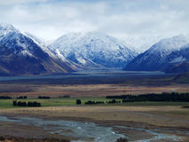 Rohan, Middle-Earth; Mount Potts, New Zealand Stock Photography