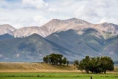 Mount princeton colorado Royalty Free Stock Images