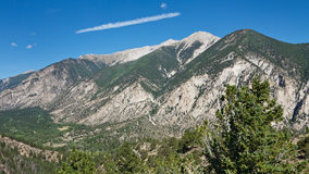 Mount Princeton in the Rocky Mountains Stock Photography
