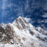 Mount Pumori in Everest region, Nepal Himalaya Stock Photography