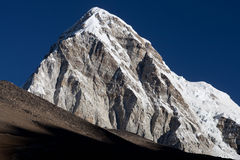 Mount Pumori in the Nepal Himalaya Stock Photo