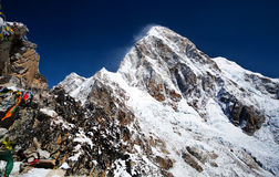 Mount Pumori, Nepal Royalty Free Stock Photography