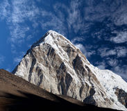 Mount Pumori view from Everest Base Camp, Nepal Royalty Free Stock Image