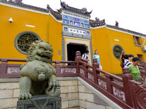 Mount Putuo Temple Royalty Free Stock Photos