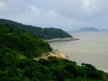 Mount Putuo view Stock Images