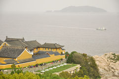Mount Putuo view Stock Image