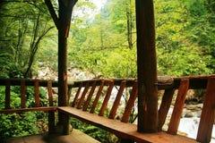 Mount Qingcheng стоковые изображения rf