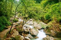 Mount Qingcheng стоковая фотография