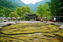 Mount Qingcheng foto de stock