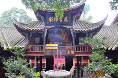 Mount Qingcheng Sanqinggong Temple, Sichuan, China Royalty Free Stock Image
