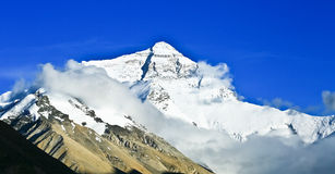 Mount Qomolangma Stock Images
