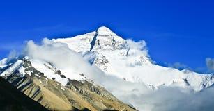 Mount Qomolangma Stock Images