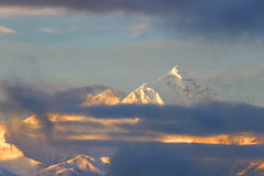Mount Qomolangma Royalty Free Stock Photos
