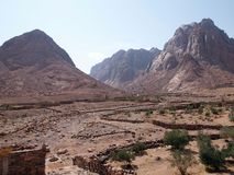 Mount Raaba and Sapsafa Royalty Free Stock Images