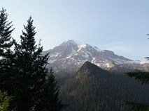 Mount Rainer Royalty Free Stock Photography