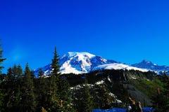 Mount Rainer Stock Photo