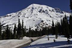 Mount Rainier, около Сиэтл, США Стоковые Изображения RF