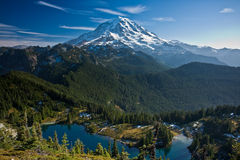 Mount Rainier Royalty Free Stock Photo