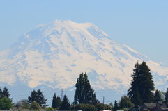 Mount Rainier. On a clear day Stock Photography