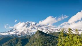 Mount Rainier from Inspiration Point, Mount Rainie. R National Park, Washington royalty free stock images