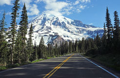 Mount Rainier National Park, Washington State, USA Stock Images
