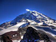 Mount Rainier and Observation Rock Royalty Free Stock Photography