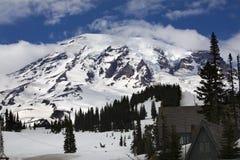 Mount Rainier Paradise Inn Royalty Free Stock Image