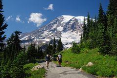 Mount Rainier, Washington, USA stock image