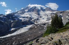 Mount Rainier, Washington, USA Royalty Free Stock Photography