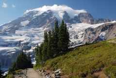 Mount Rainier, Washington, USA Stock Photo