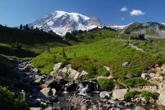 Mount Rainier, Washington, USA Royalty Free Stock Images