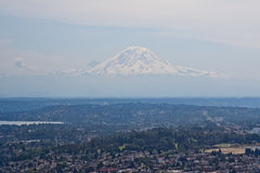 Mount Rainier in Seattle Royalty Free Stock Photo