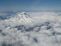 Mount Rainier royalty free stock photos