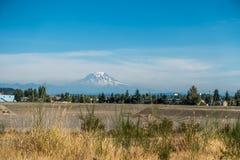 Mount Rainier From Tacoma Stock Image