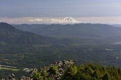 Mount Rainier via Mount Si, USA Stock Photography