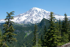 Mount Rainier, Washington Royalty Free Stock Photo
